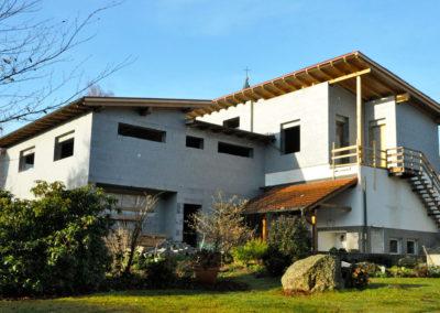 Hausbau Perndorfer-Haus mit 3Dpanel Flachdach