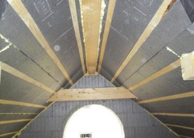 Dachgiebel mit 3Dpanel Dachdämmplatten