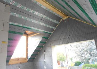 Perndorfer-Haus mit 3Dpanel gedämmten Dach