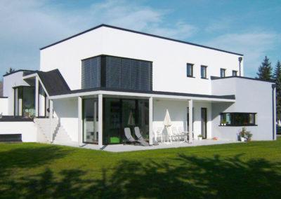 Perndorfer-Haus mit 3Dpanel Flachdach